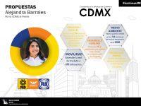 Propuestas de Alejandra Barrales para la CDMX