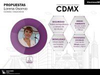 Lore Osornio candidata sin partido por la jefatura de la CDMX