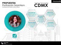 Purificación Carpinteyro y sus cinco frentes por la CDMX