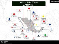 ¿Quiénes gobiernan las capitales de los estados que renovarán alcaldes?