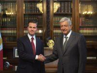 Se reúne EPN con López Obrador en Palacio Nacional