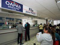 Ofrece OAPAS de Naucalpan subsidio del 100% en multas y recargos