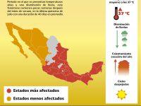 Peligros de la canícula en México