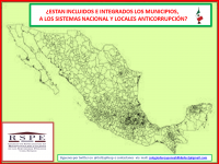 ¿Están incluidos e integrados los municipios a los sistemas anticorrupción?