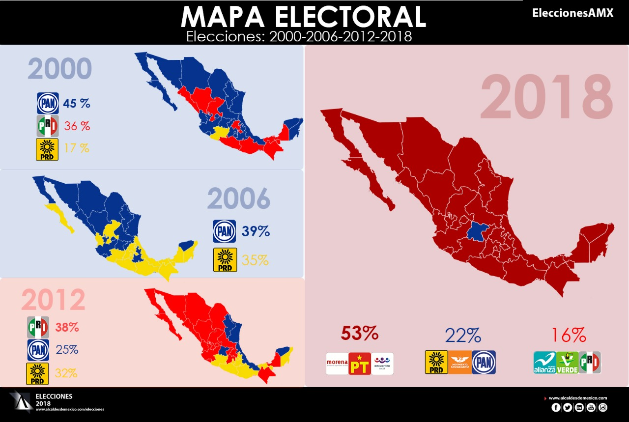 Estos son los resultados finales de la elecci n for Resultados electorales mir