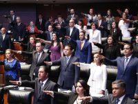Senadores y diputados instalan la LXIV Legislatura