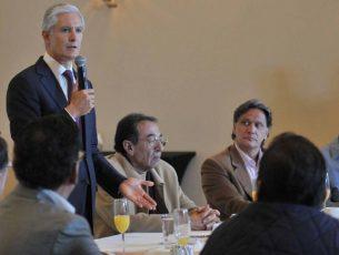 El Estado de México trabajará con Gobierno federal en temas de seguridad: Del Mazo