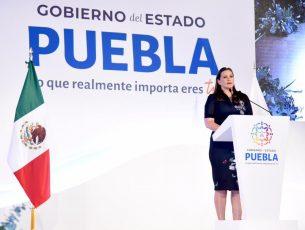 Martha Erika Alonso llama a trabajar en conjunto por el bien de Puebla