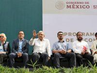 Presenta López Obrador el Plan Nacional de Reconstrucción en Jojutla, Morelos