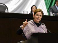 Martha Tagle alza la mano por la dirigencia de Movimiento Ciudadano
