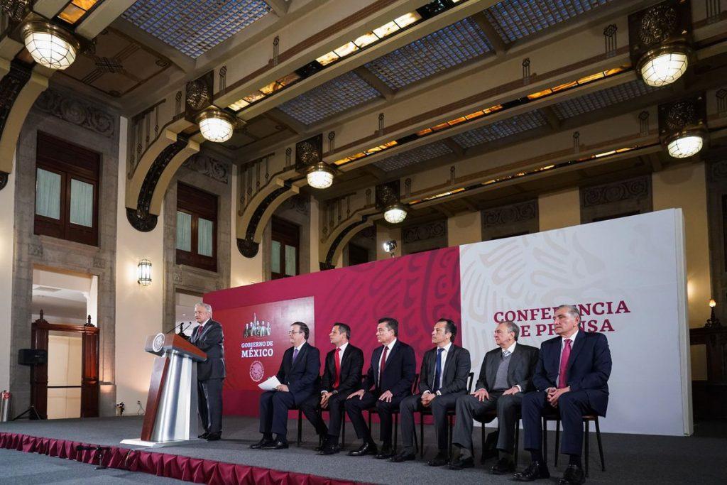 Gobernadores del sur respaldan Plan migratorio; piden orden y respeto